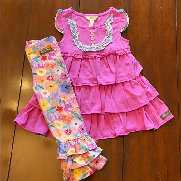 EUC Matilda Jane Dress and Pants Size 2 lot